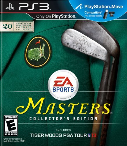 Tiger Woods PGA TOUR 13: The Masters Collector's Edition - Playstation 3 by Electronic Arts (13 Tiger Ps3)