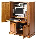 Unbekannt Die tatsächliche Diffusion 6724Alsace Computer Schrank mit 4Türen, 55x 97x 141cm