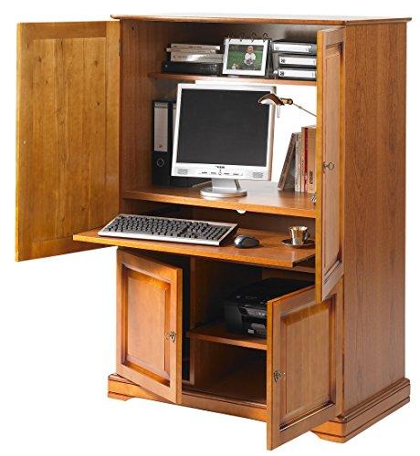 Unbekannt Die tatsächliche Diffusion 6724Alsace Computer Schrank mit 4Türen, 55x 97x 141cm -