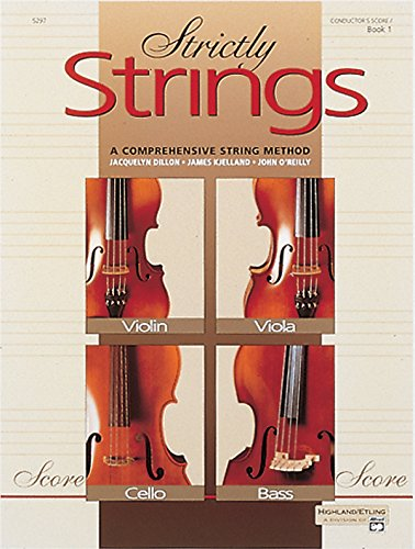 Strictly Strings, Bk 1: Conductor's Score (Strictly Strings, Book 1)