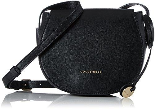 Coccinelle - Clementine, Borse a spalla Donna Nero (Noir)