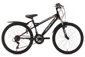 VTT enfant 24'' Prophecy noir TC 36 cm KS Cycling