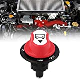 Yzki Batterie Isolator Schalter, DC50V 50A Auto Boot abgeschnitten LKW einfach installieren wasserdichte Batterie Isolator Schalter