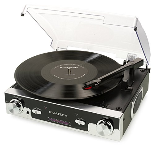 Ricatech-RTT77-Tourne-disque-Noir