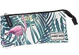 PRODG PRODG Triple Pencil Case Flamingo Trousses, 23 cm, Multicolore (Multicolored)