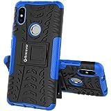 Bracevor Flexible Shockproof TPU | Brushed Texture Back Case Cover for Redmi Y2 - Black