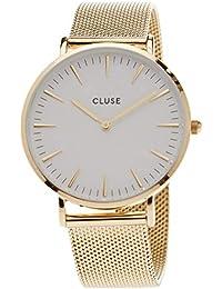 Cluse Damen Armbanduhr Analog Quarz Edelstahl CL18109