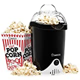 Best Popcorn Makers - Savisto Hot Air Popcorn Maker with 6 Popcorn Review