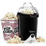 Savisto Hot Air Popcorn Maker with 6 Popcorn Boxes | Electric Popcorn Machine