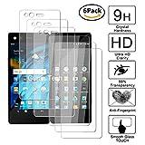Guran [3 Pièces] Glass Protector pour ZTE Axon M Smartphone Screen Verre Trempé Protecteur d'écran Résistant aux éraflures