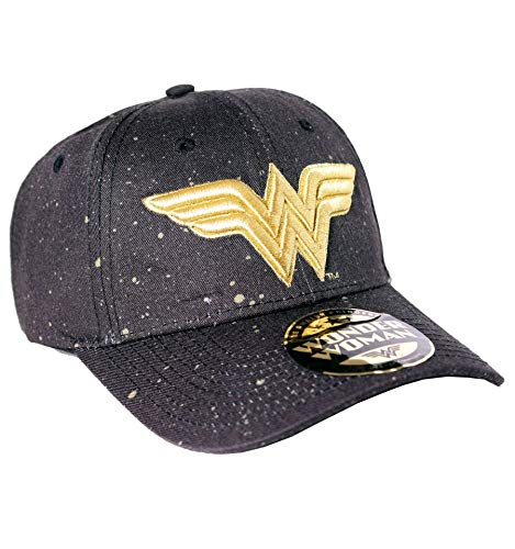 Wonder Woman Logo Baseball-Cap schwarz
