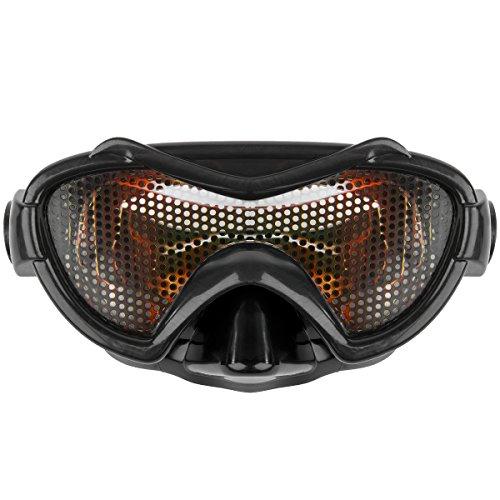 DISNEY Star Wars Taucherbrille für Kinder, Schwimmbrille mit Kylo Ren, schwarze Tauchermaske für Kinder one size