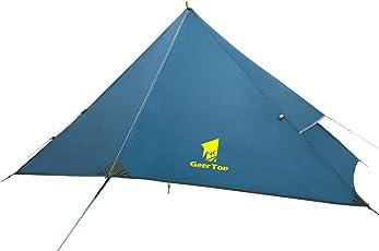 GEERTOP 1 Person Backpacking Zelt 4 Saison Einzel Outdoor Leichte Wasserdichte Camping Zelt für Bergsteigen Wandern Reise