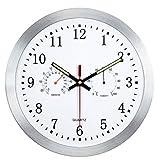 YAHAMA Horloge Murale 12 Pouces / 30 cm sans Bruit de tic-tac Horloge Murale...