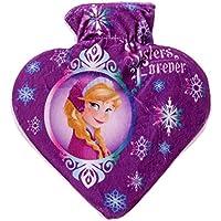 Disney Frozen Wärmflasche in Herzform 800ml, Farbe:lila preisvergleich bei billige-tabletten.eu