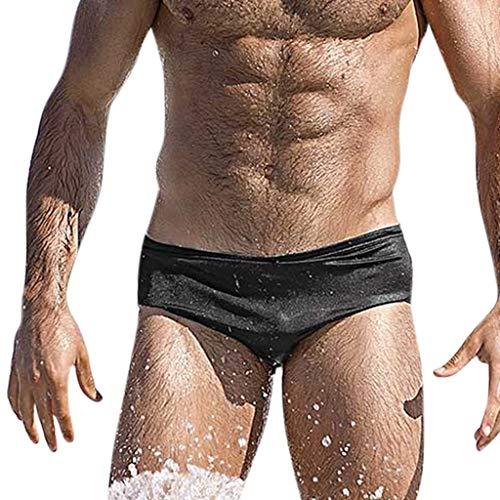 Herren Streifen Weiche Bequeme Slip Polyester Unterhose Knickers Shorts Sexy Unterwäsche Ultra Soft Stretch Breathable Badehose