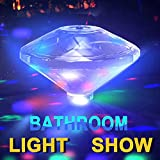 Underwater LED Light, Shineus Pond Light Floating Lamp Colorful Light for Bath Swimming Pool Disco Pond Spa Hot Tub Party With 7 Modes (The Newest)