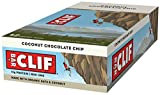 Clif Bar Coconut Chocolate Chip 68 g (Pack of 12) [Kohlenhydrate]