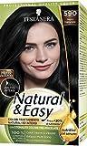 Haarfärbemittel permanente Farbe Natural & Easy N 590 schwarz