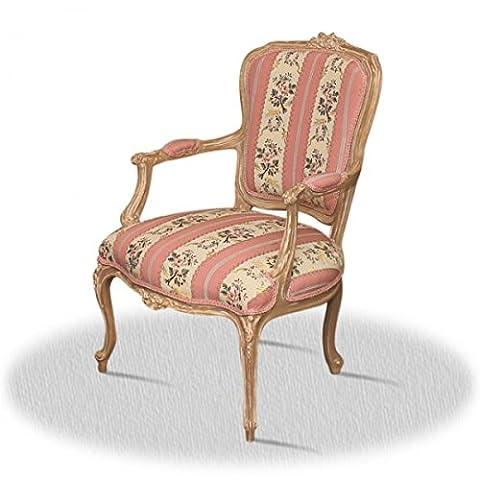Chaise baroque Louis XV AlCh0308AtRs rococo de style