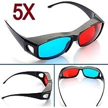 Grandes gangas 5 Rojo Azul Cian NVIDIA 3D Vision Glasses Miopía Generales