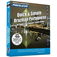 Portuguese (Brazilian), Q&s: Learn to Speak and Understand Brazilian Portuguese with Pimsleur Language Programs (Pimsleur Quick and Simple) by Pimsleur (2000)