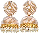 Jewels Gehna Gold Plated Fancy Stud Pear...