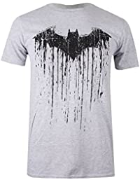 DC Comics Herren Langarmshirt Batman Paint