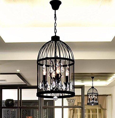 BJVB Birdcage lampadario. luci del pendente di