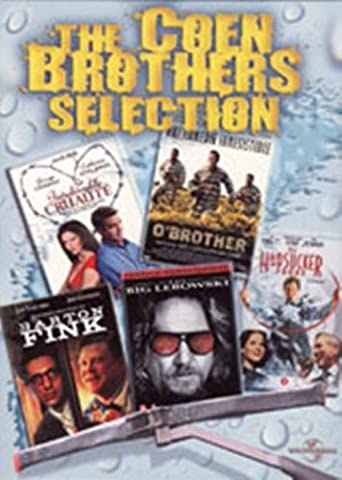 The Coen Brothers Selection: Intolérable Cruauté, O'Brother, Barton Fink, The Big Lebowski, Le Grand Saut - Coffret 5 DVD [Import