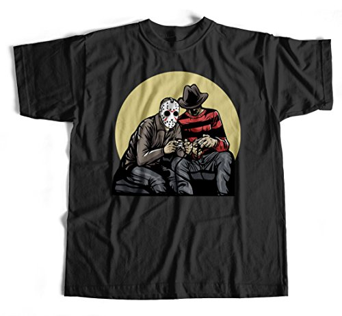 T-Shirt Gamers S-4XL Jason Freddy Leatherface Horror Horrorfilm Movie Kult