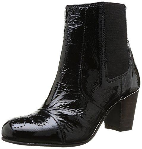 Elle Marais, Boots femme Noir (Vernis Noir)