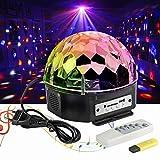 LED Discolampe Partyleuchte RGB Lichteffekt Disco Bühnenbeleuchtung Party Licht Discolichteffekte Lampe Projektor Licht Deko fürr DJ Show,KTV Bar Bühne,Xmas,Party,Festival Deko