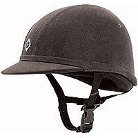 Charles Owen YR8 de equitación, colour negro - Negro - negro / negro, 58cm / 7 1/8