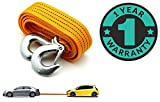 #6: Starford Premium 2 in. x 20 ft. x 10,000 lbs. Heavy-Duty Tow Strap with Hooks