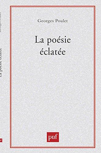 La Poésie éclatée : Baudelaire-Rimbaud