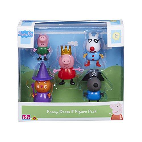 Peppa Pig - Figuren in Kostümen, 5 Stück, (Peppa Kostüm Pig The)
