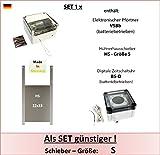AXT-Electronic Set 1_x - enthält: Pförtner mit Batterien, Zeitschaltuhr, Hühnerklappe, für Außenmontage