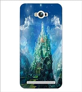 PrintDhaba Castle D-4423 Back Case Cover for ASUS ZENFONE MAX ZC550KL (2016) (Multi-Coloured)