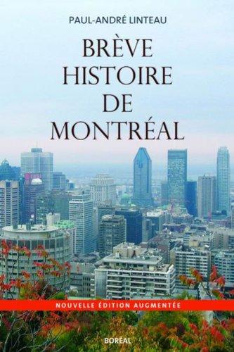 Brève histoire de Montréal (NE)