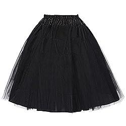 1950 Petticoat Unterrock Crinoline Petticoat Reifrock Underskirt Vintage Rock Kurz Swing Rock Größe S BP56-1
