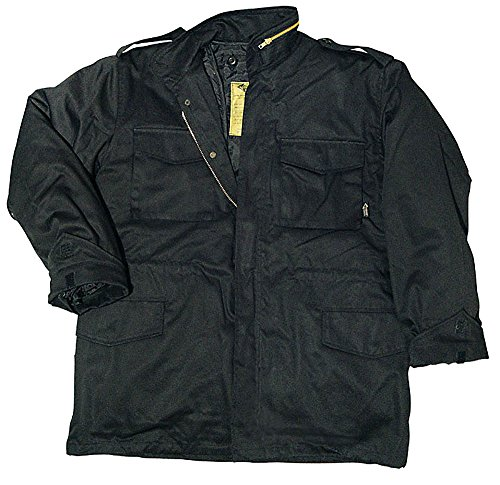 Preisvergleich Produktbild Feldjacke Fieldjacket M65 Parka (Farbe: schwarz) XL/XL,Schwarz