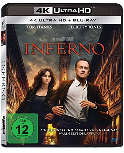 Inferno - Ultra HD Blu-ray [4k + Blu-ray Disc]