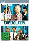Capital City, Staffel 2 / Weitere 10 Folgen der packenden Finanz-Serie im Stil von WALL STREET (Pidax Serien-Klassiker) [3 DVDs]