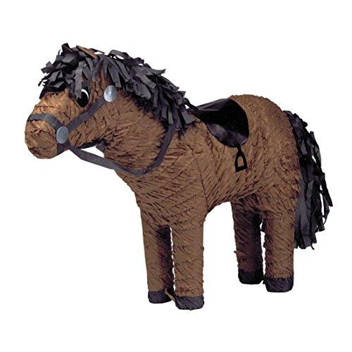 NET TOYS Pinata Pferd Kindergeburtstag Spiel Pony Pferdepinata Geburtstagsfeier Partydeko Kinderspiel (Kindergeburtstag Pinatas Für Pferd Den)