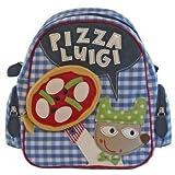 Room Seven Kinderrucksack 'Pizza Luigi' in blau