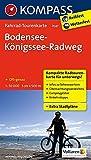 Bodensee-Königssee-Radweg: Fahrrad-Tourenkarte. GPS-genau. 1:50000. (KOMPASS-Fahrrad-Tourenkarten, Band 7047) -