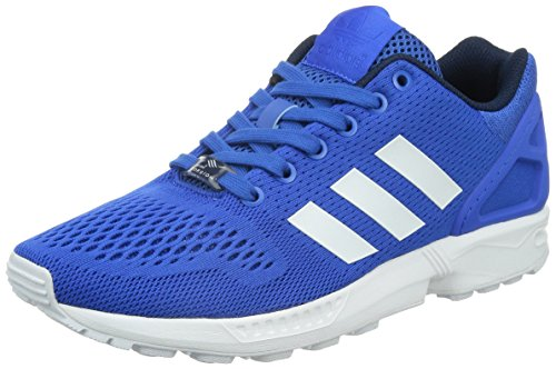 adidas  Zx Flux, Baskets pour homme Bleu et blanc