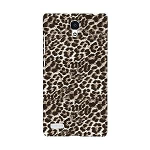 EYP Cheetah Leopard Print Back Cover Case for Xiaomi Redmi Note 4G