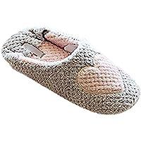 Minetom Donne Pantofole Calde Autunno Inverno Pistoni Dell'Interno Morbido Scarpe